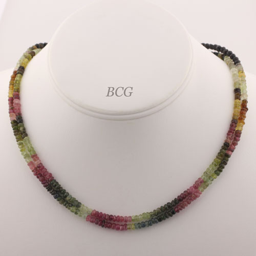 Faceted Tourmaline Necklace #TOUR-008