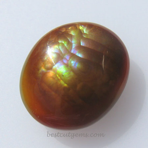 Fire Agate #IT-1832 from Calvillo, Aguascalientes Mexico