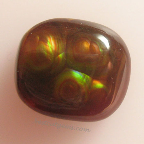 Fire Agate #IT-1846 from Calvillo, Aguascalientes Mexico