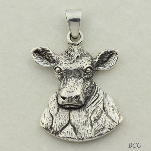 Gem the Cow Pendant #TPD-4152