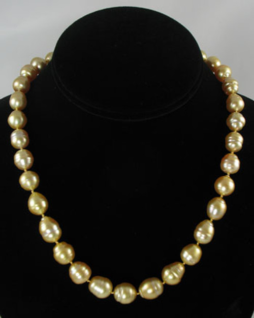 Golden South Sea Pearl Strand #510