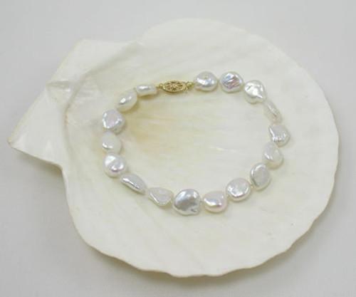 Keshi Pearl Bracelet 525
