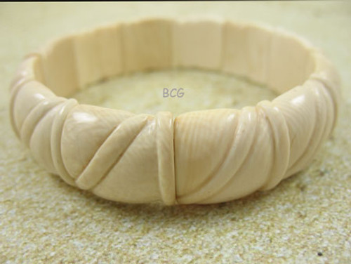 Genuine Woolly Mammoth Ivory Bracelet #850