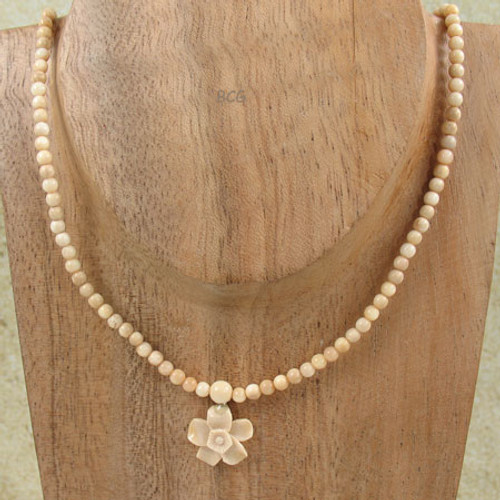 Genuine Natural Mammoth Ivory Necklace #952