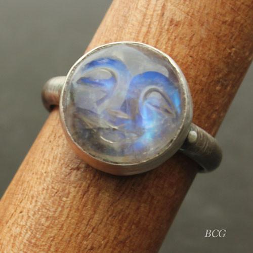 Man in the Moon Ring #RI-332