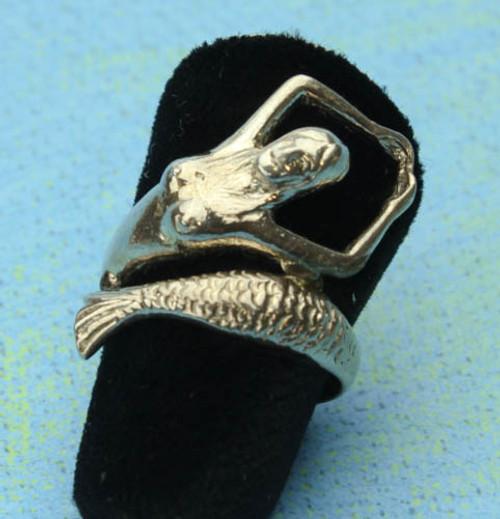 Mermaid Silver Ring #BCG-103
