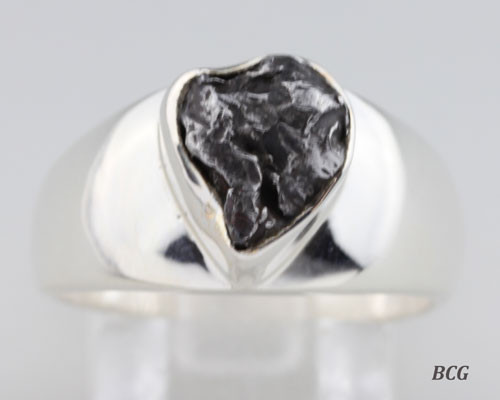Men's Custom Designer Meteorite Ring #MR-180