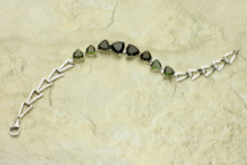 Beautiful Moldavite Bracelet #BR-1032