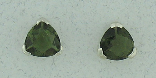 Moldavite Earrings #705