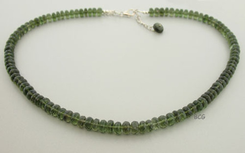 Beautiful Genuine Moldavite Necklace #1322
