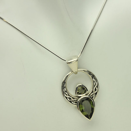 Genuine Moldavite Necklace #3843
