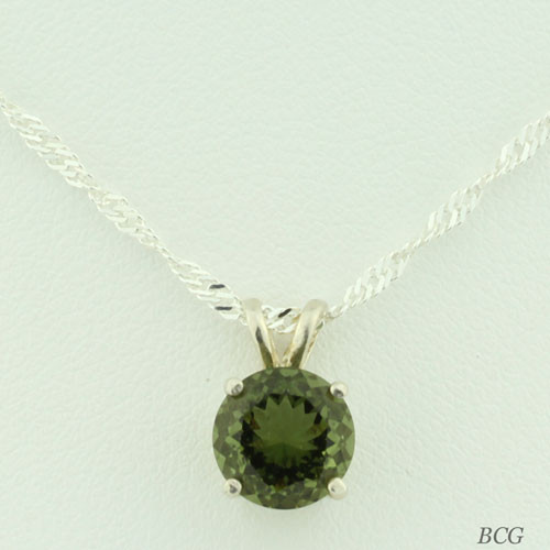 Genuine Moldavite! Beautiful Moldavite Necklace #403