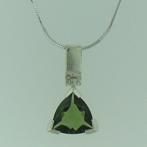 Beautiful Moldavite Necklace #703