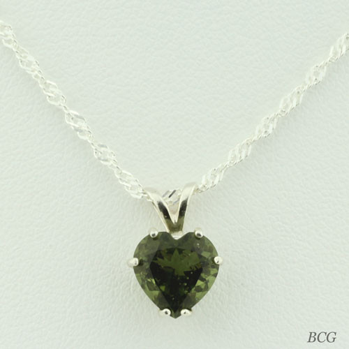 Genuine Moldavite!  Beautiful Moldavite Necklace #705