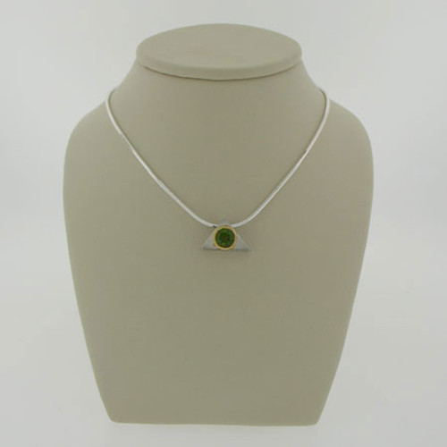 Genuine  Moldavite Necklace #713