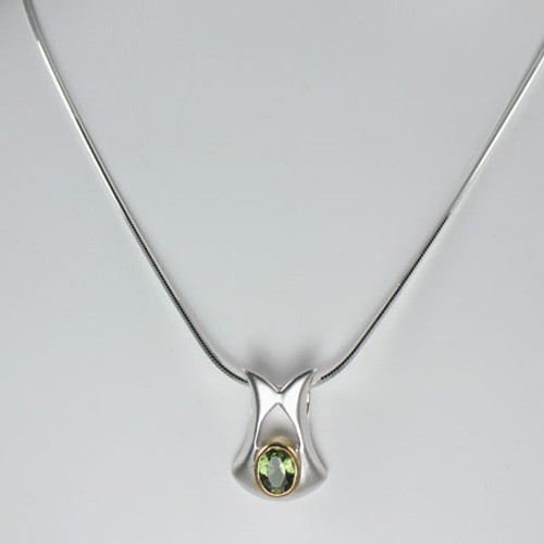 Beautiful Moldavite Necklace #718