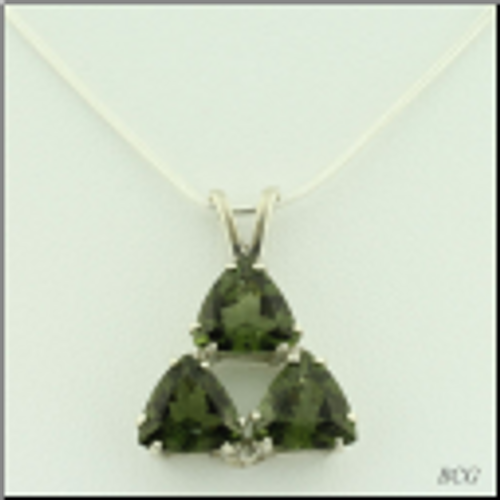 Beautiful Moldavite Necklace #7188