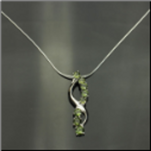 Beautiful Genuine Moldavite Necklace #NE-337
