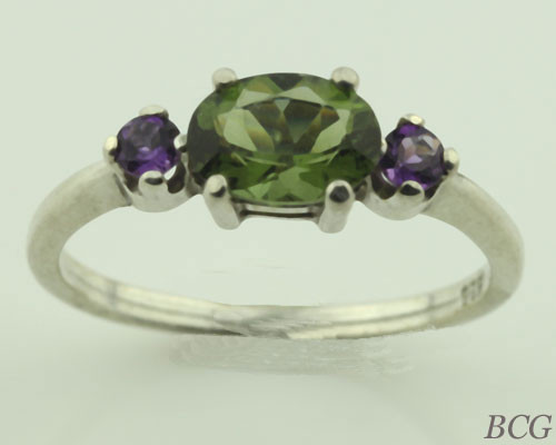 Genuine Moldavite Ring #0644!