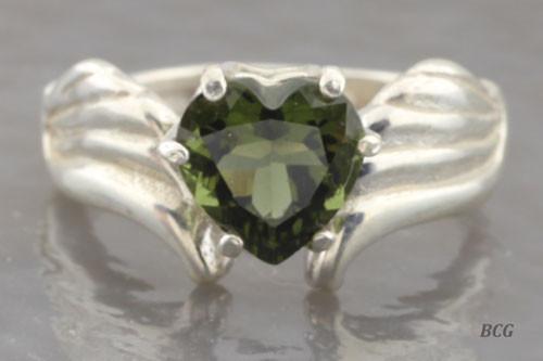 Genuine Moldavite Ring #0741!
