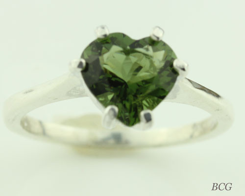 Genuine Moldavite Ring #0743!