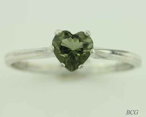 Genuine Moldavite Ring #0744!