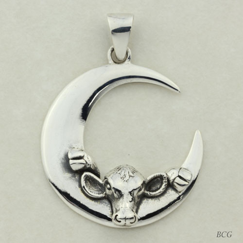 Moonglow the  Moo-n Cow Pendant TPD-4147