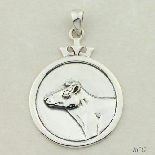 Moonlight the Cow Pendant #TPD-4145