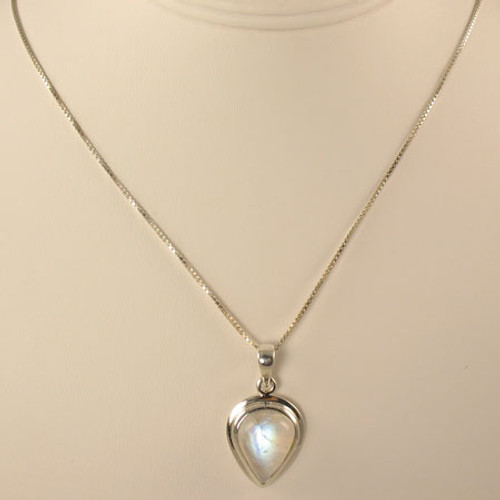 Genuine Moonstone Necklace #755