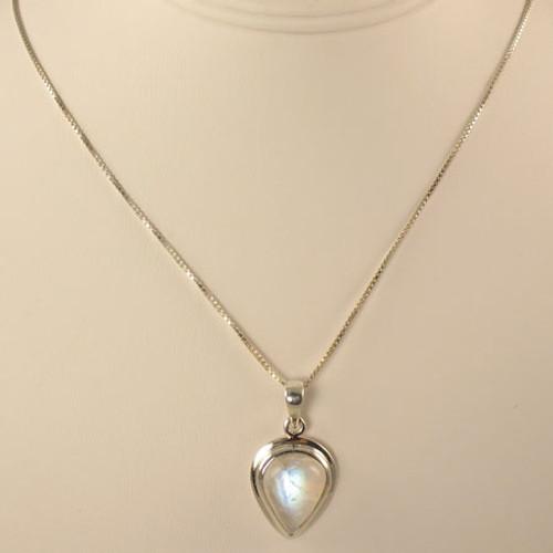 Genuine Moonstone Necklace #755