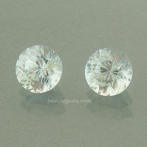Pair of Blue Zircons #IT-1863
