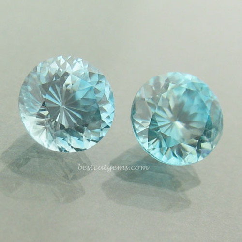 Pair of Blue Zircons #IT-1864