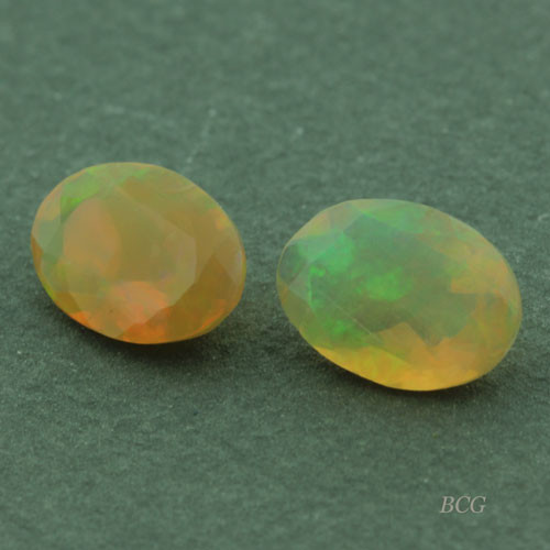 Pair of Ethiopian Opals #G-2348