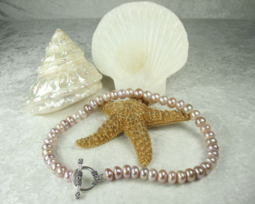 Pink Freshwater Pearl Strand