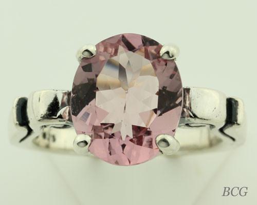 Pink Morganite Ring #120