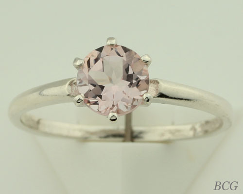 Pink Morganite Ring #121