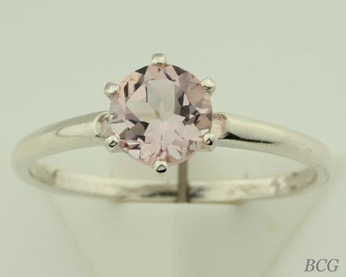 Pink Morganite Ring #121