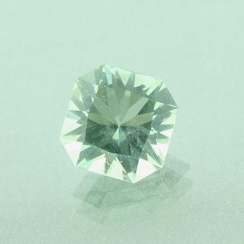 Green Prasiolite #G-2380 Custom faceted