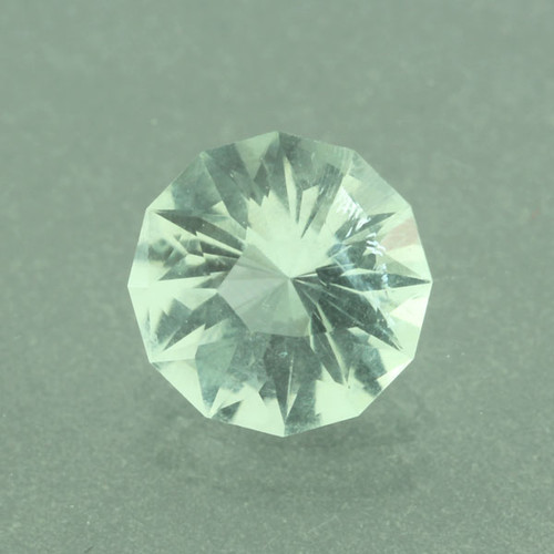Green Prasiolite #G-2389  Custom faceted