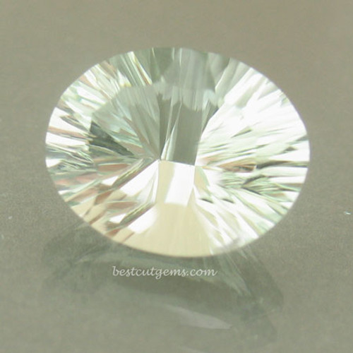 Mint Green Prasiolite - Green Quartz #IT-1856