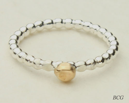 DesignedbyLin Stackable Bead Ring  #RI-313