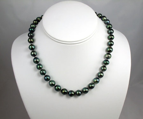 Tahitian Pearl Strand, Bracelet & Earrings  #1104