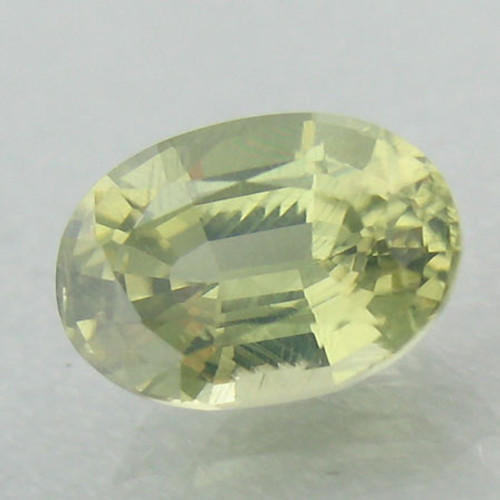 Yellowish Green  Zircon #IT-887