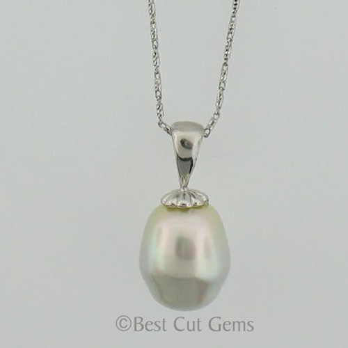 White South Seas Pearl Necklace