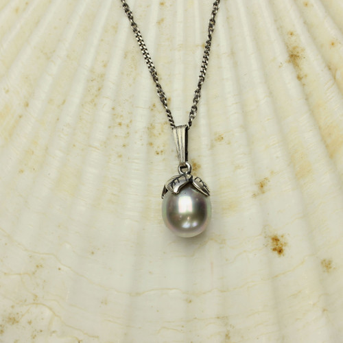 Tahitian Pearl Necklace #NE-475B