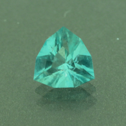 Custom Faceted Teal Fluorite #G-3026