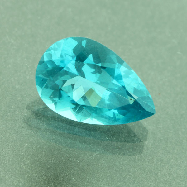 Neon Paraiba Blue Color Apatite