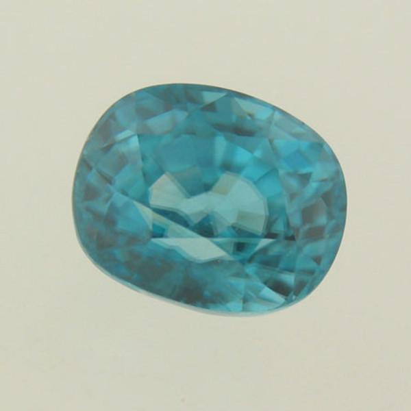Sparkling Aqua Blue Zircon #IT-448
