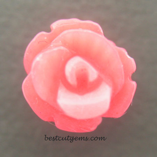 Genuine Coral Flower Bead #G-1935