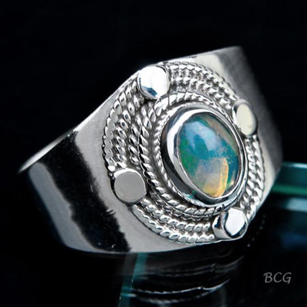 Ethiopian Opal RING #RI-807
